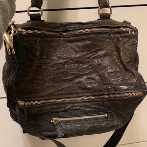 GIVENCHY pandora vintage leather bag